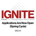 Banner for IGNITE:Research Applications Now Open Spring Cycle