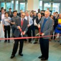 Praxis Center ribbon cutting